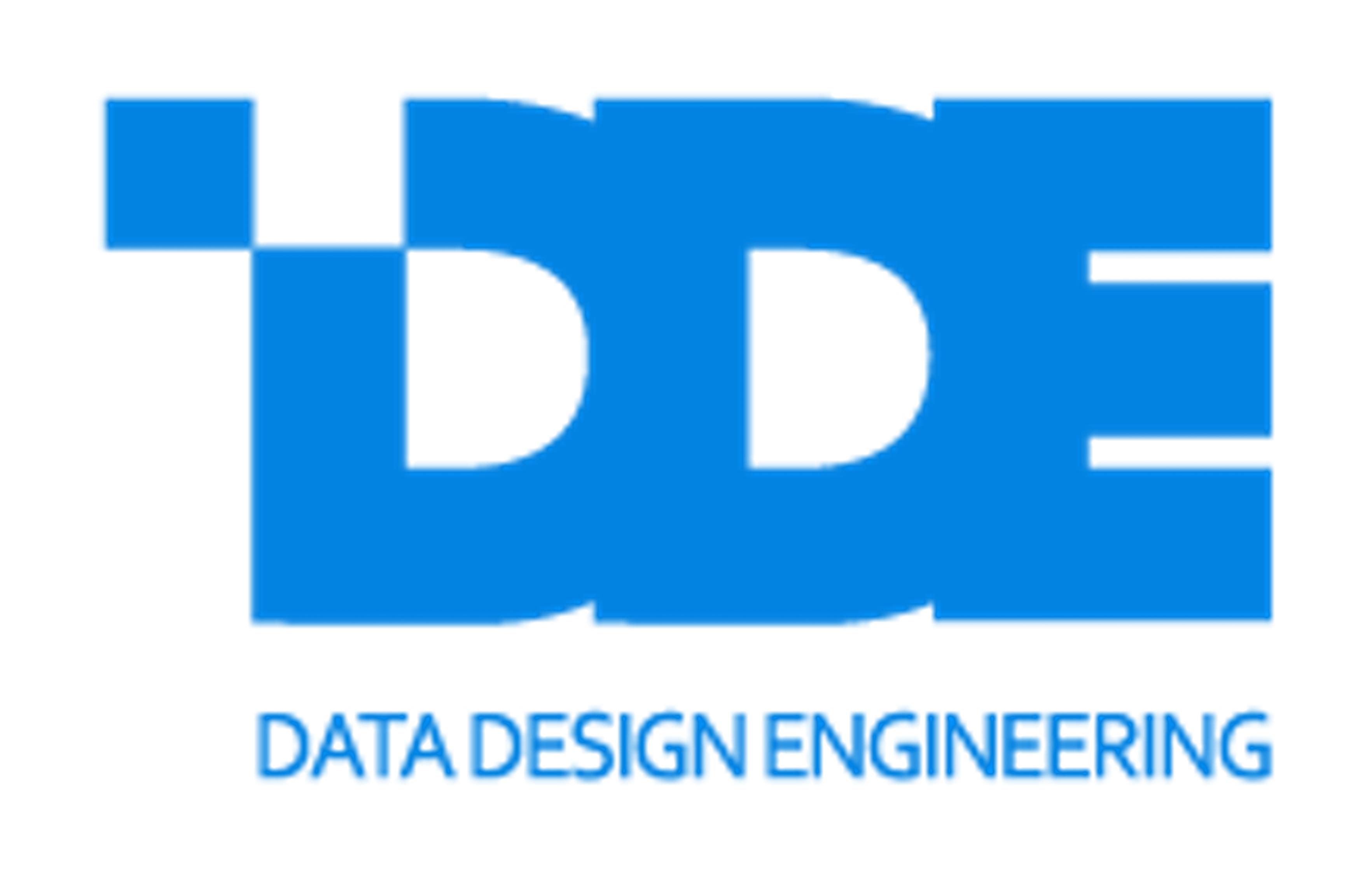 (주)데이터디자인엔지니어링의 기업로고