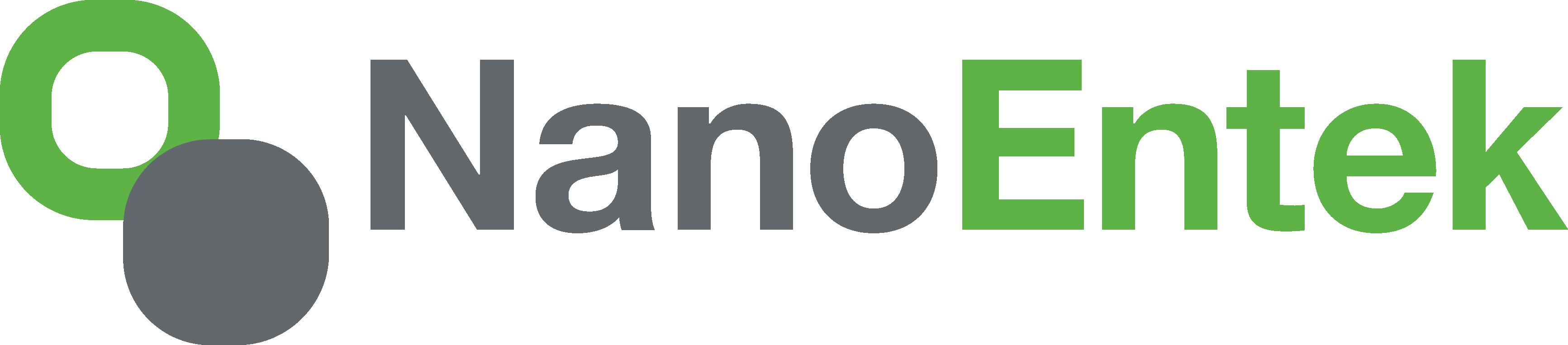(주)나노엔텍의 기업로고