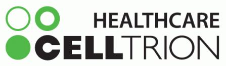 셀트리온의 계열사 (주)셀트리온헬스케어의 로고