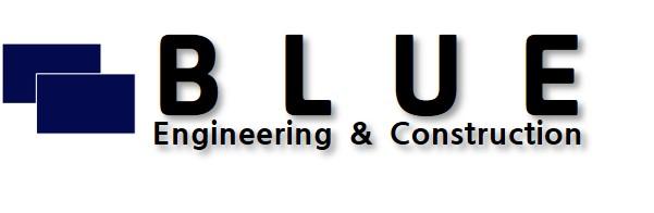 (주)블루종합건설의 기업로고