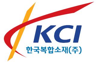 한국카본의 계열사 한국복합소재(주)의 로고