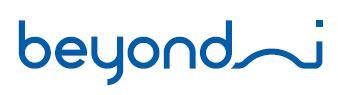 켐트로닉스의 계열사 (주)비욘드아이의 로고