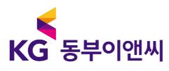 KG의 계열사 케이지동부이앤씨(주)의 로고