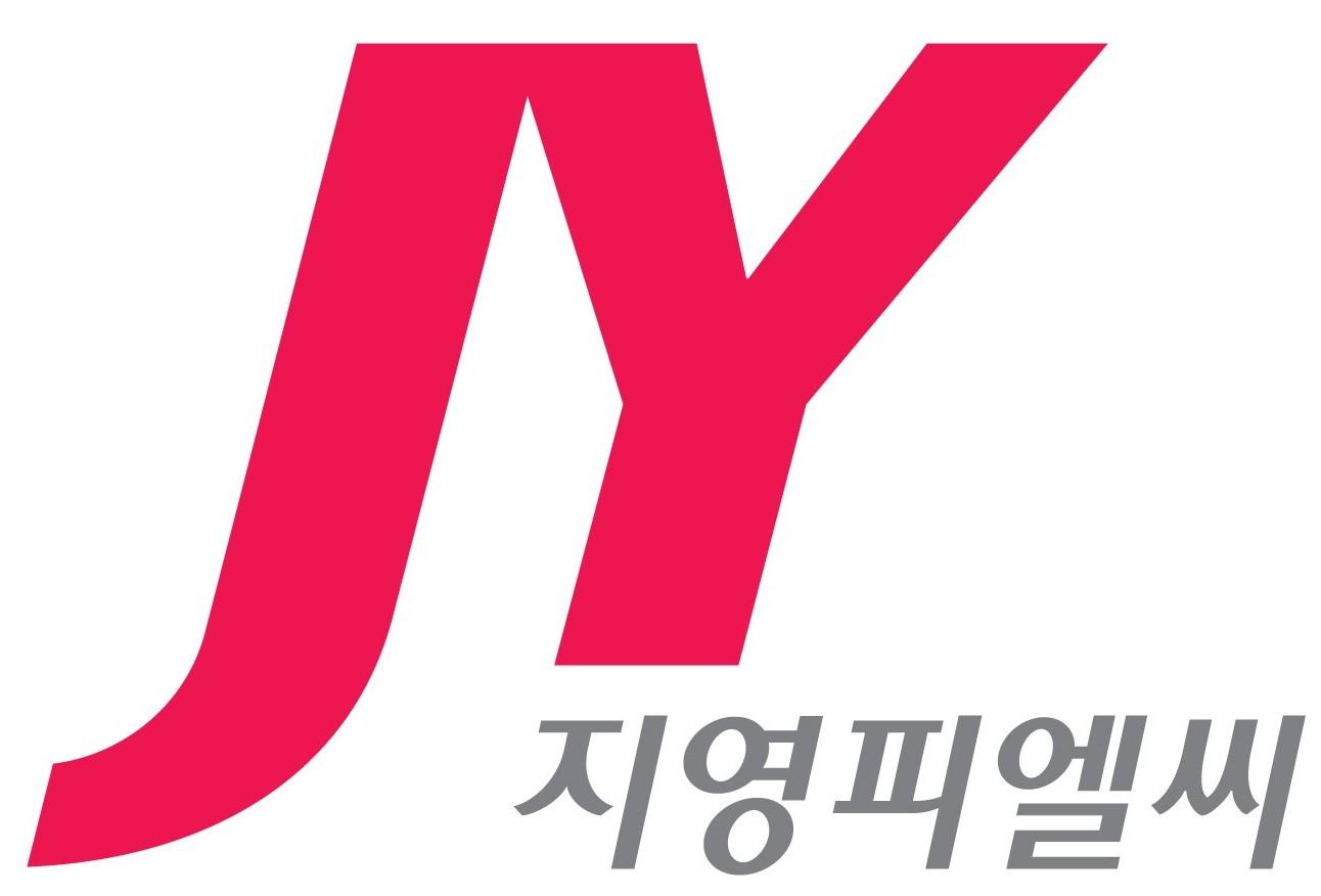 보령홀딩스의 계열사 (주)지영피엘씨의 로고