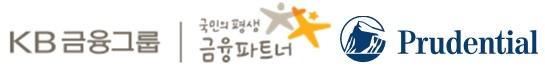 KB금융의 계열사 푸르덴셜생명보험(주)의 로고