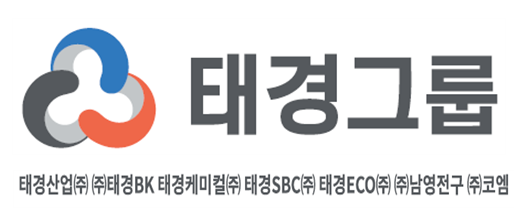 태경산업의 계열사 (주)태경비케이의 로고