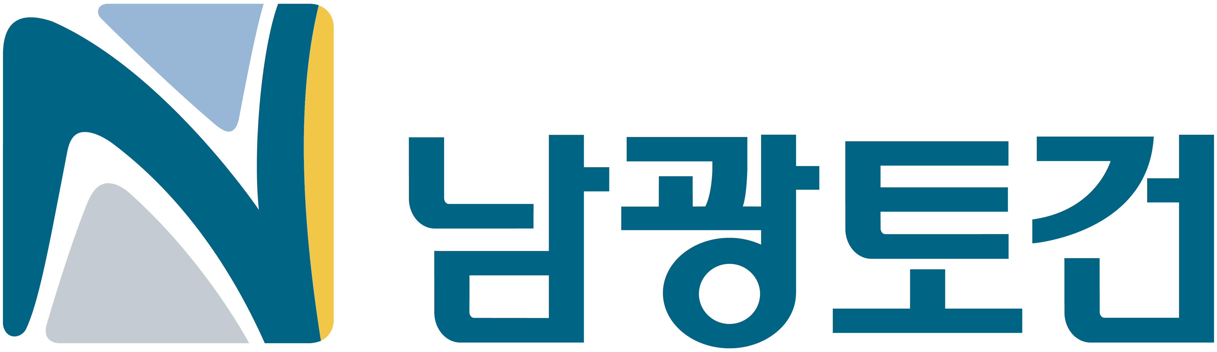 세운건설의 계열사 남광토건(주)의 로고