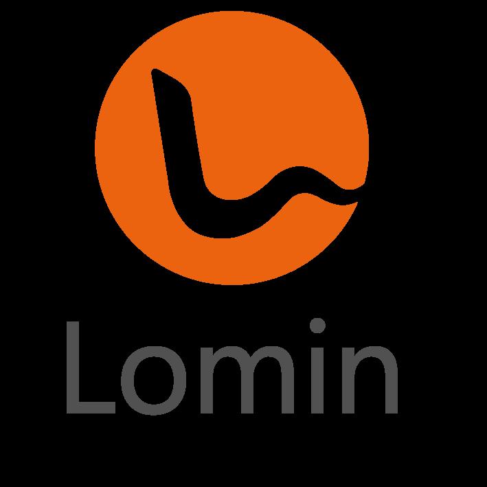 (주)로민의 기업로고