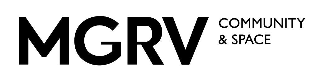 현대해상화재보험의 계열사 (주)엠지알브이의 로고