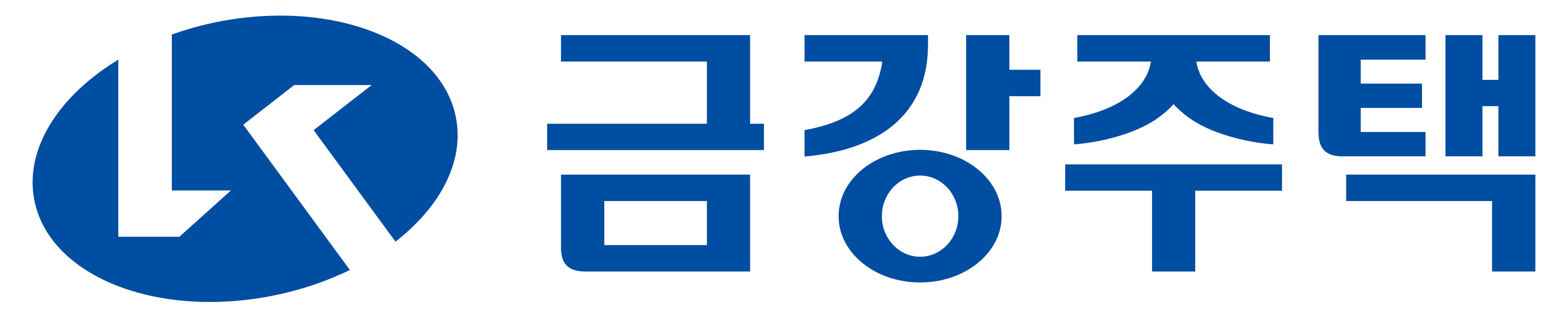 금강주택의 계열사 (주)금강주택의 로고
