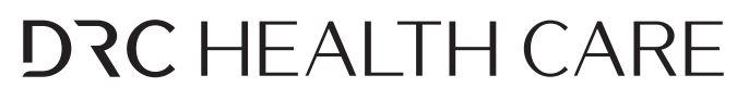 제이준코스메틱의 계열사 (주)디알씨헬스케어의 로고
