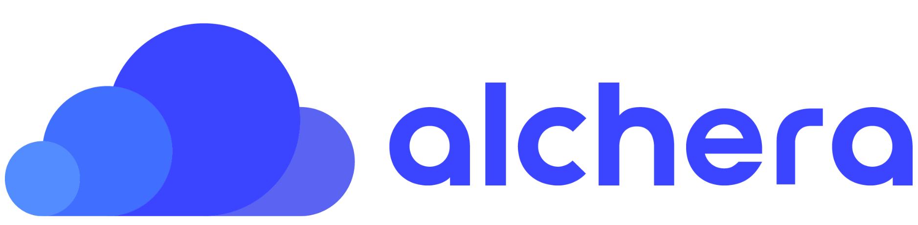 (주)알체라의 기업로고