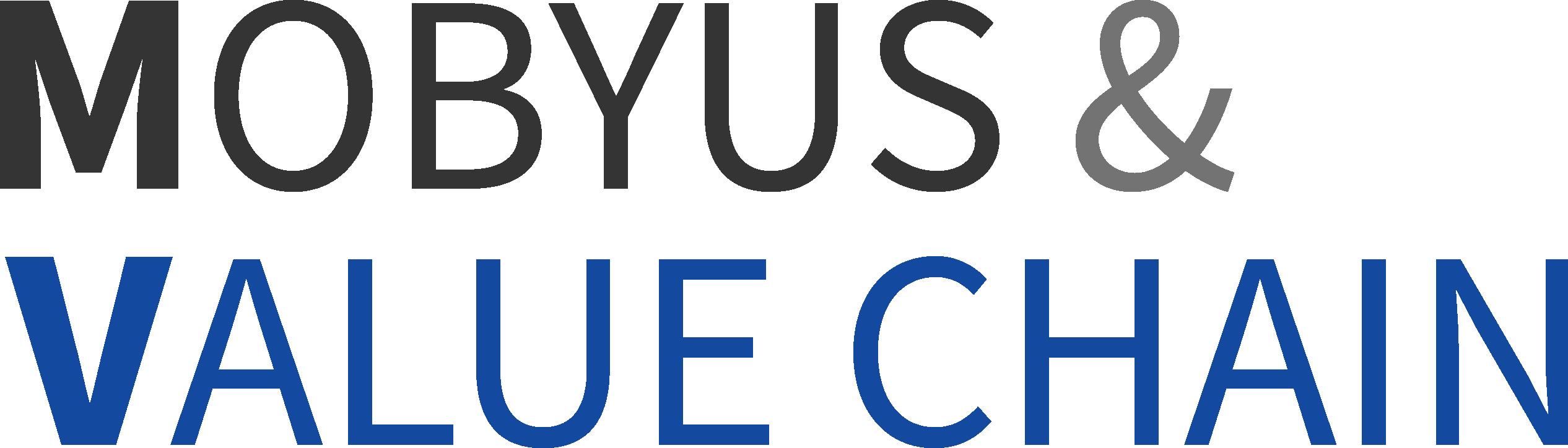 세종공업의 계열사 모비어스앤밸류체인(주)의 로고