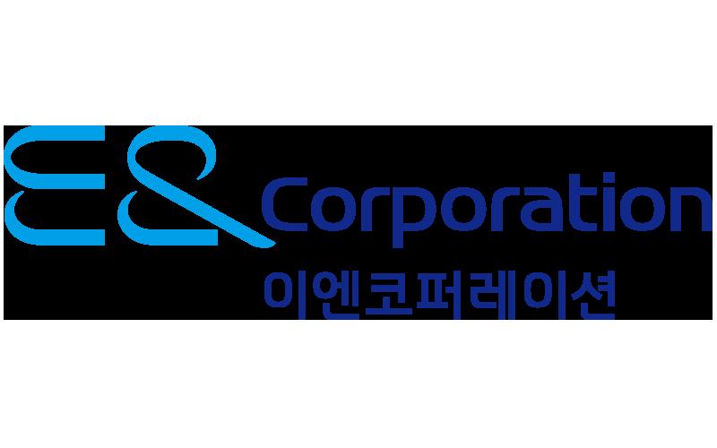 제이에스아이코리아의 계열사 (주)이엔코퍼레이션의 로고