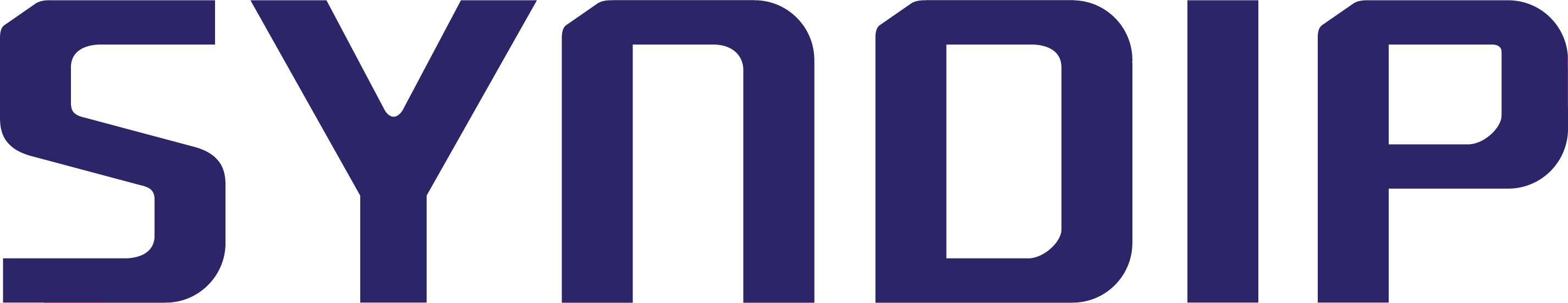 한국알콜산업의 계열사 (주)신디프의 로고