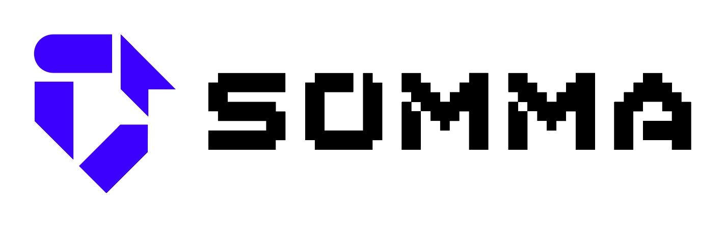 (주)쏘마의 기업로고