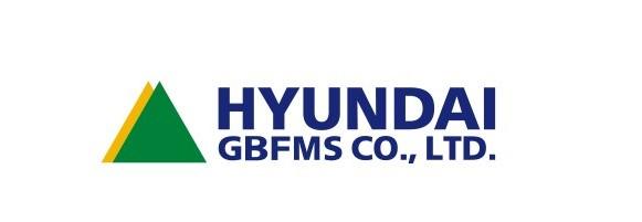 현대의 계열사 현대지비에프엠에스(주)의 로고