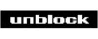 언블락(주)의 기업로고