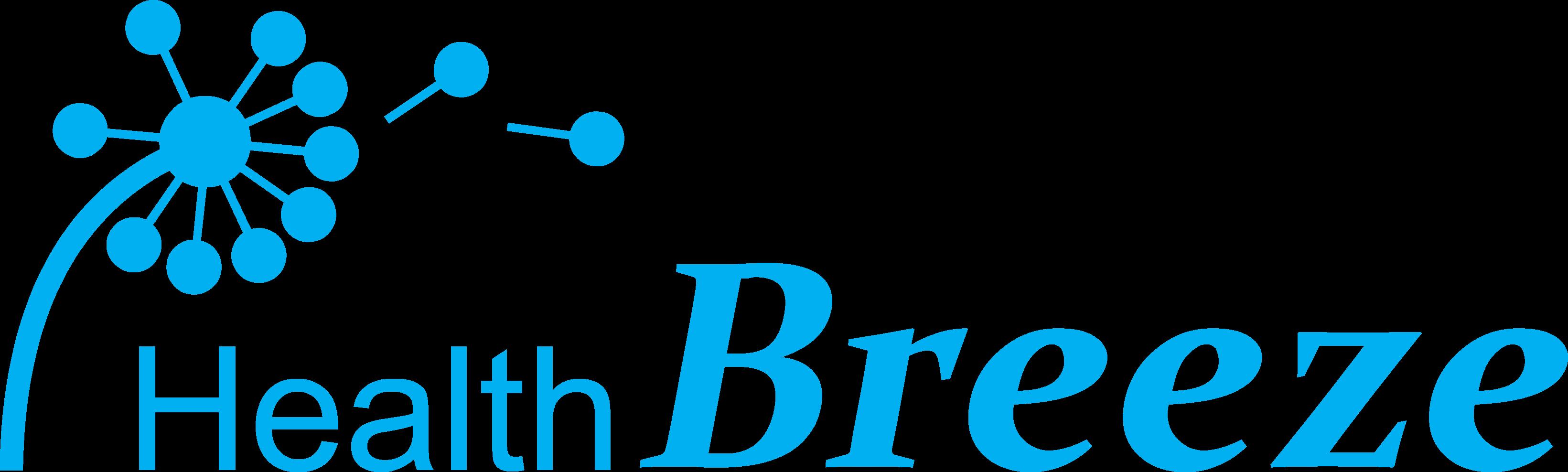 마크로젠의 계열사 (주)헬스브리즈의 로고