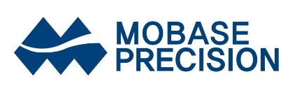 모베이스의 계열사 모베이스정기(주)의 로고
