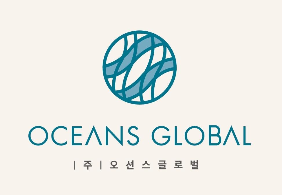 후성의 계열사 (주)오션스글로벌의 로고
