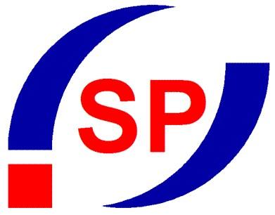 협진커넥터의 계열사 (주)신성프리시젼의 로고