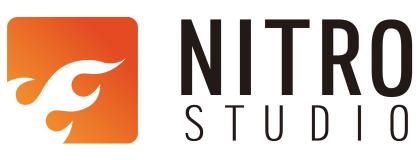 넥슨의 계열사 (주)니트로스튜디오의 로고