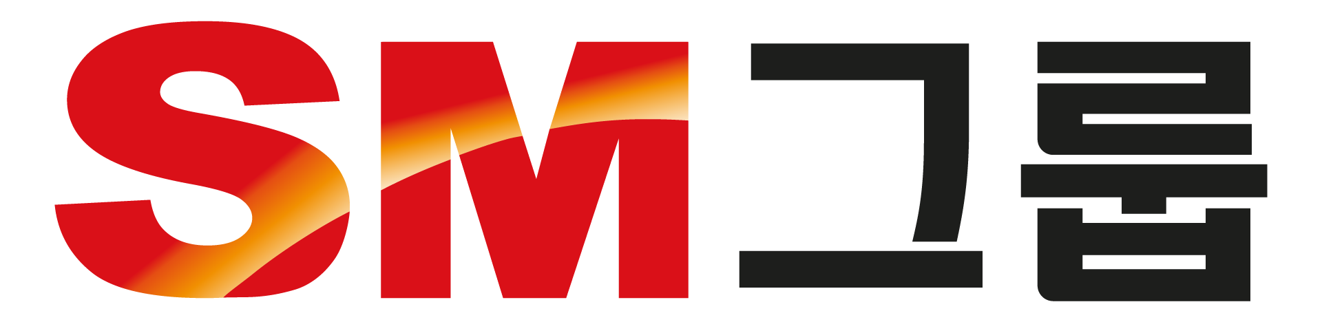 SM의 계열사 에스엠상선(주)의 로고