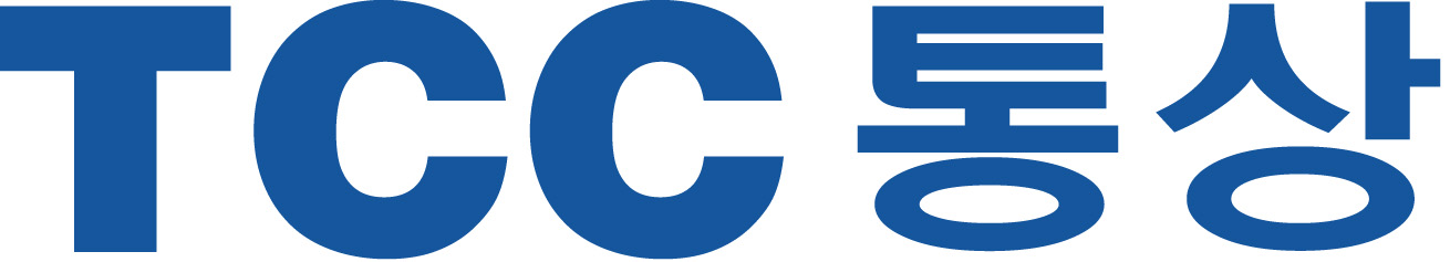 TCC스틸의 계열사 (주)티씨씨통상의 로고