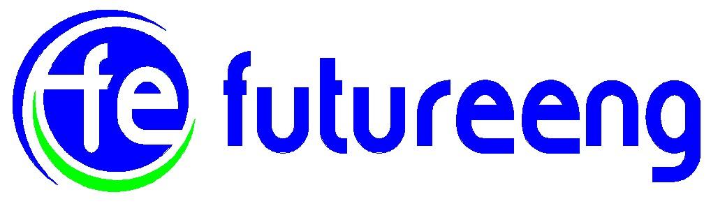 바이오니아의 계열사 퓨쳐이엔지(주)의 로고
