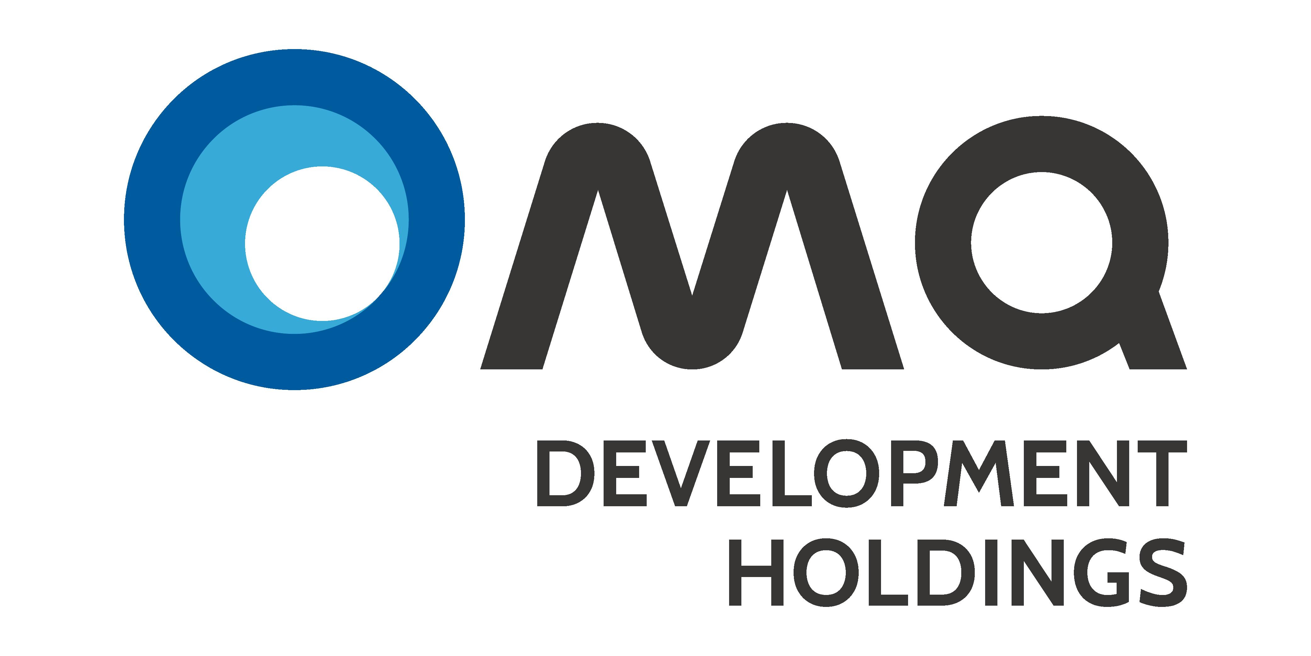 엠큐네트웍스의 계열사 엠큐디벨롭먼트홀딩스(주)의 로고