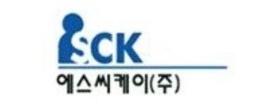테크로스홀딩스의 계열사 에스씨케이(주)의 로고