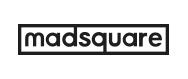 코스맥스비티아이의 계열사 매드스퀘어(주)의 로고