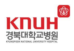교육부의 계열사 경북대학교병원의 로고