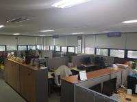 시스템사업부 사무실
